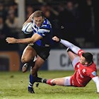 Farrell kicks Saracens to victory against Bath Rugby at the Rec