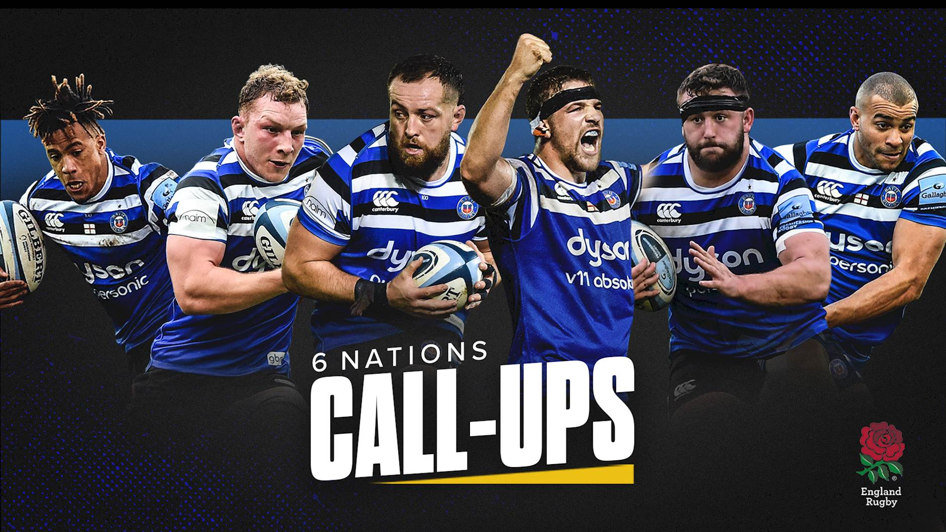 Six Bath Rugby Players Named In England