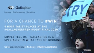 Win Hospitality tickets to the Gallagher Premiership final
