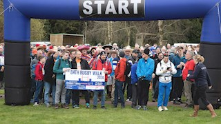 Bath Rugby Walk sees more than 400 support two Bath charities