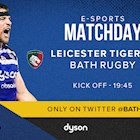 Bath Rugby announce squad for inaugural E-Sports Premiership tie with Leicester Tigers