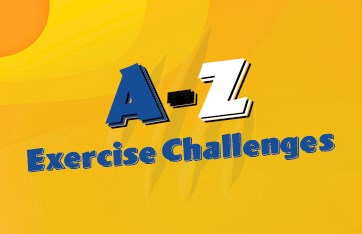 A-Z Exercise Challenges