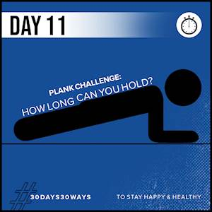 Day 11 - The Plank Challenge 📏