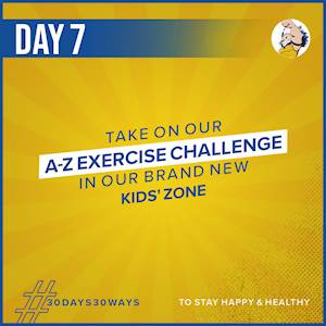 Day 7 - A-Z Exercise Challenge 🏋🏻