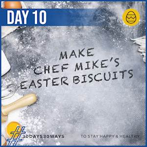 Day 10 - Make Easter Biscuits