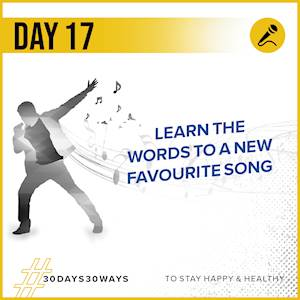 Day 17 - Learn the words to a new song 🎶