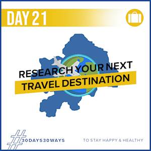 Day 21 - Research your next travel destination 🧳