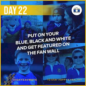 Day 22 - Get featured on the fan wall 📸