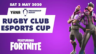 Play Fortnite alongside Bath Rugby players in the Rugby Club Esports Cup!