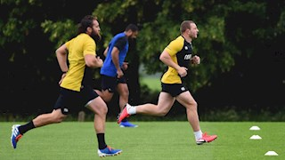 Bath Rugby's Return to Stage 1 training