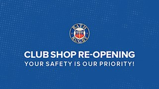 Club Shop re-opening