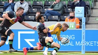 Thrilling Bath Rugby performance earns bonus-point win over Harlequins