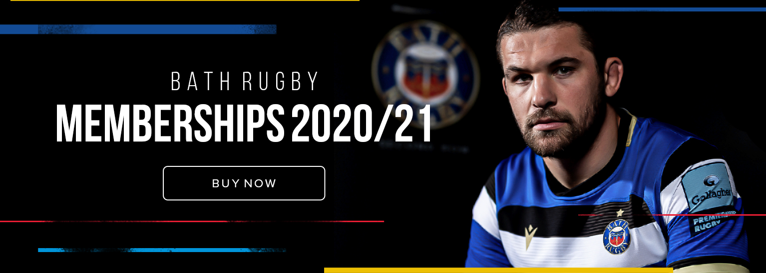 Bath Rugby Memberships 2020/21
