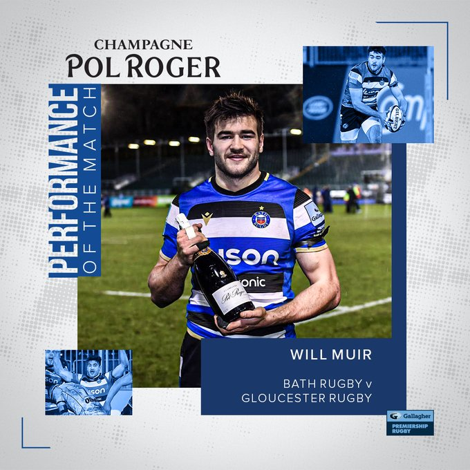 Pol Roger Performance of the Match - Will Muir