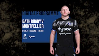 READ NOW! Digital Programme | Bath Rugby v Montpellier